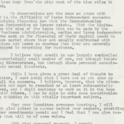Letter : 1957 April 26