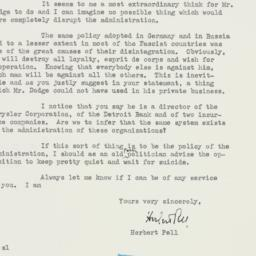 Letter : 1953 March 20