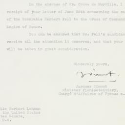 Letter : 1955 July 1