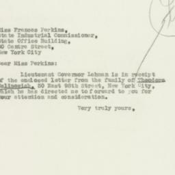 Letter: 1931 July 29