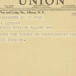 Telegram: 1935 April 13