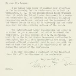 Letter: 1937 March 29