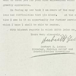 Letter: 1942 December 9