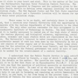 Letter: 1961 October 27