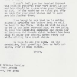 Letter: 1963 March 1