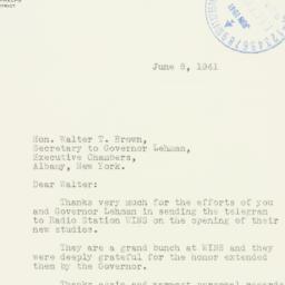 Letter : 1941 June 8