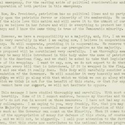Speech: 1941 January 8