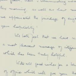 Letter : 1935 January 1