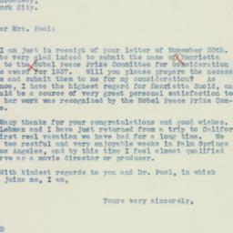 Letter : 1936 December 4