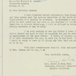 Letter : 1938 January 18