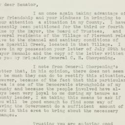 Letter: 1953 October 10