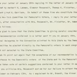 Press release : 1960 Februa...