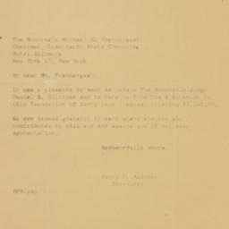 Letter : 1960 December 20