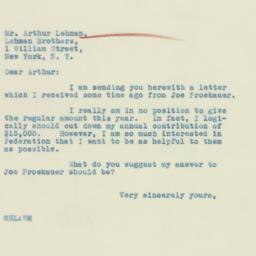 Letter : 1933 January 23
