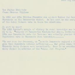 Memorandum : 1955 January 24