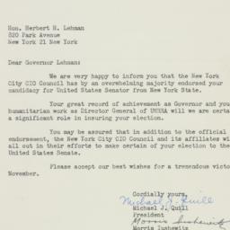 Letter : 1949 September 16