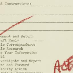 Administrative record : n.d.