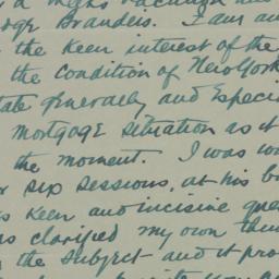 Letter : 1934 July 7