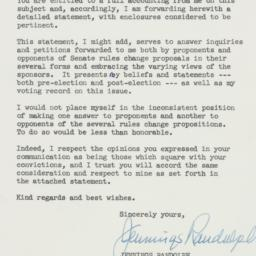 Letter : 1959 January 21
