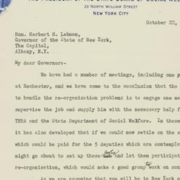 Letter : 1936 October 22