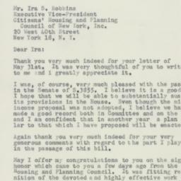 Letter : 1956 June 2