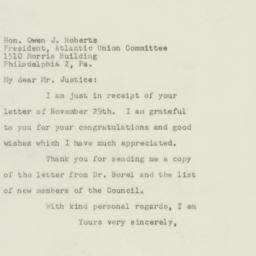 Letter : 1949 December 7