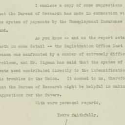 Letter : 1925 October 21