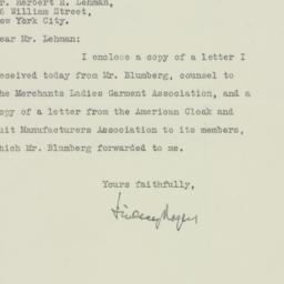 Letter : 1925 December 10
