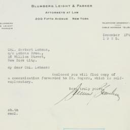 Letter : 1925 December 17