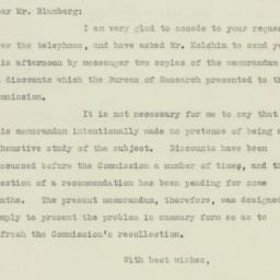 Letter : 1925 December 8