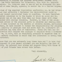 Letter : 1946 September 9