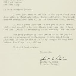 Letter : 1947 January 18
