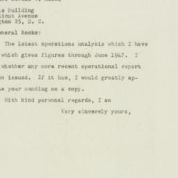 Letter : 1948 July 22