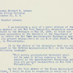 Letter : 1954 May 21