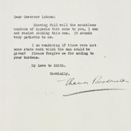 Letter: 1933 March 23