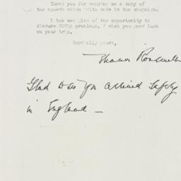 Letter: 1944 November 13