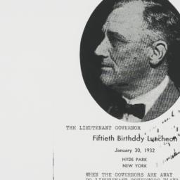 Ephemera: 1932 January 30