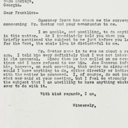 Letter: 1932 May 10