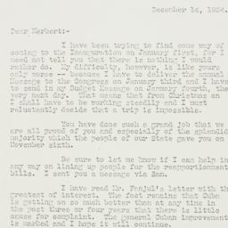 Letter: 1934 December 14