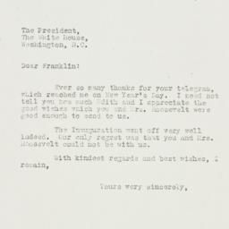 Letter: 1935 January 4