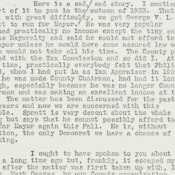 Letter: 1935 July 11