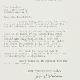 Letter: 1936 May 13