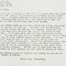 Letter: 1936 December 9