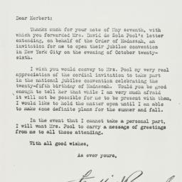 Letter: 1937 June 4
