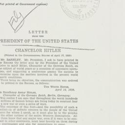 Letter: 1939 April 17