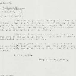 Letter: 1940 May 12