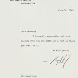 Letter: 1940 June 12