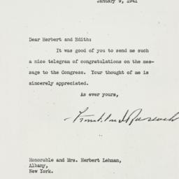 Letter: 1941 January 9