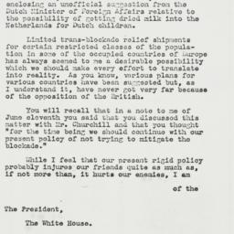Letter: 1943 August 6