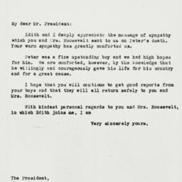 Letter: 1944 April 28